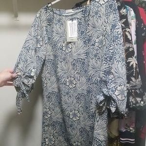 NWT blue vintage dress